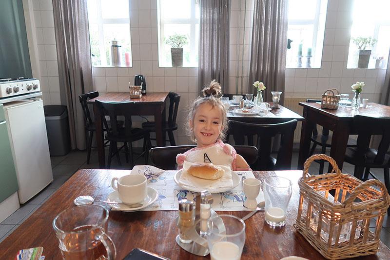 Chelsey ontbijten