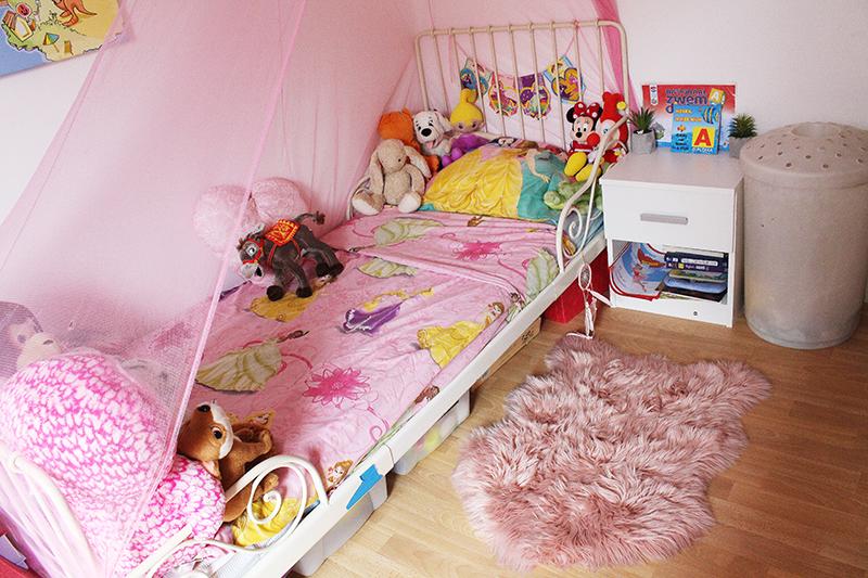 Een kijkje in de slaapkamer van mijn dochter