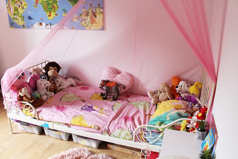 Slaapkamer van Chelsey