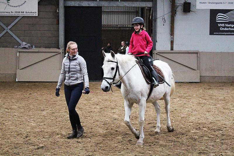 Paardrijden eerste les